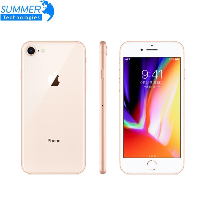 Original Unlocked Apple iPhone 8 4G LTE Mobile Phone Ram 2GB Rom 64GB/256GB 4.7