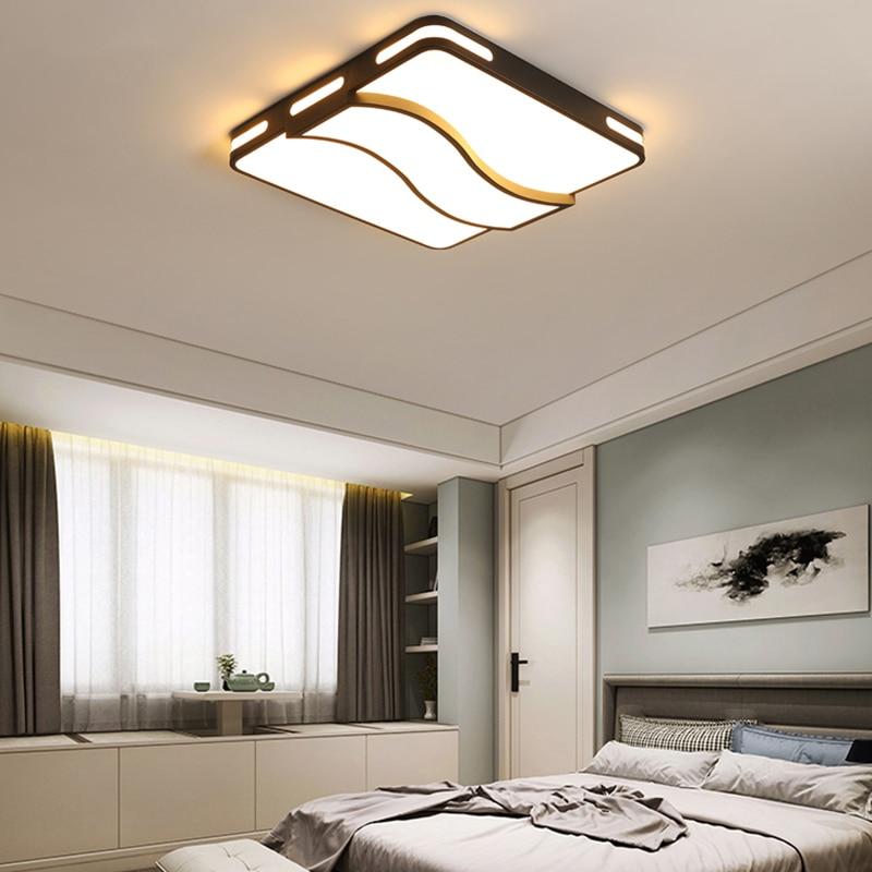 luzes de teto led para sala estar quarto cozinha sala de jantar interior casa quadrado