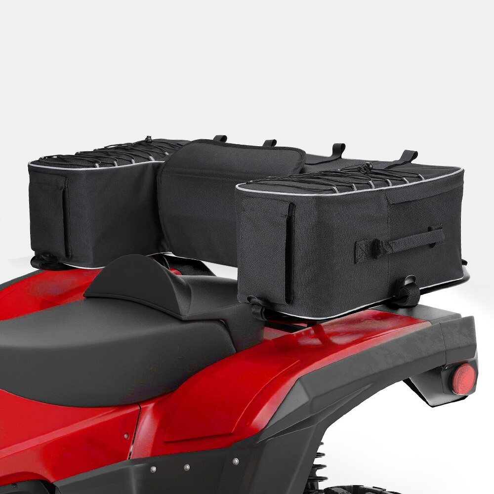 ATV رباعية الظهر حقيبة مبطن مقعد أسفل دعم تخزين حزمة الرف الخلفي قبالة الطريق ل Can-Am أوتلاندر 400 ل بولاريس 300 لياماها