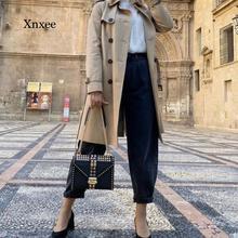 2021 Women's Fashion Ladies Ladies Denim Tights High Waist Stretch Jeans Slim Pencil Jeans Women Cas