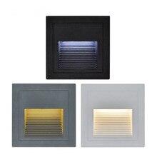 Les lumières descalier détape de Led étanche 5W ont mené la lumière extérieure de plancher de plate-forme pour la lampe de mur descalier de canal à laube lumière extérieure