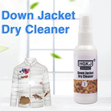 Fast Shipping /2/3/4/5pcs Durable Down Coat Cleaner Down Jacket Cleaning Agent Dry Cleaning Agent No