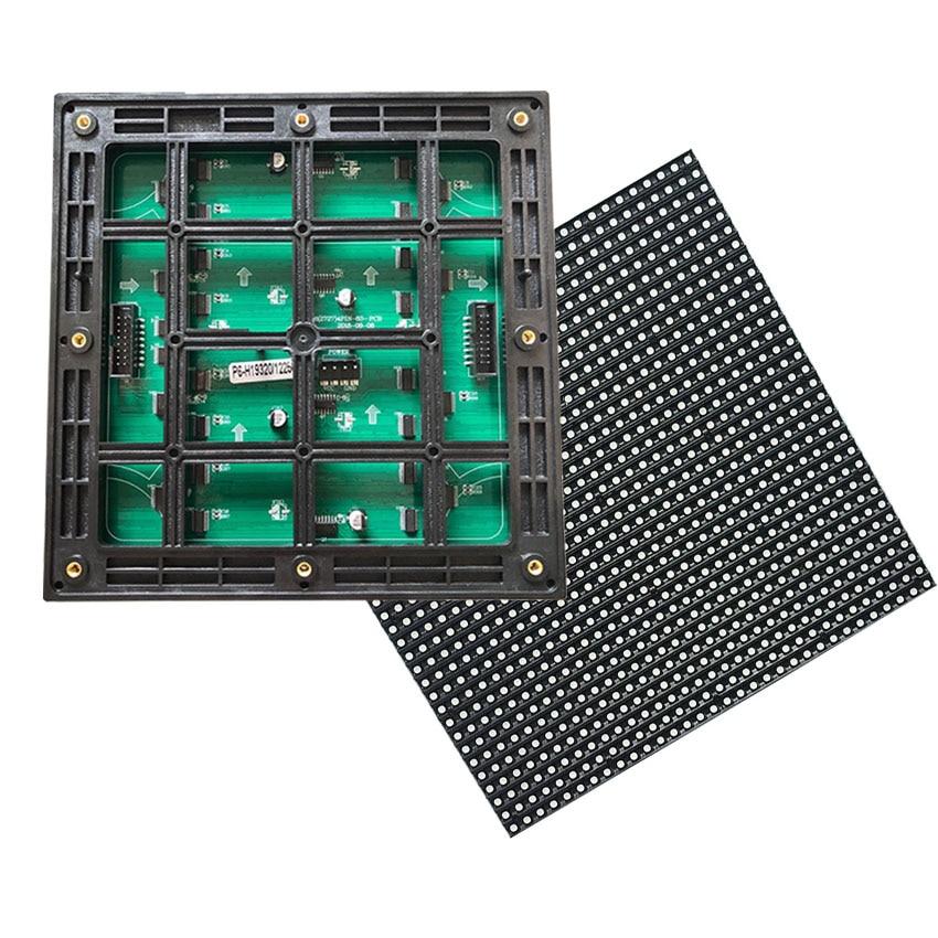 192*192mm P6 impermeable al aire libre * 32*32 puntos SMD2727 3in1 módulo LED 8S 27777dot/M vedio HD jugador IP65 pantalla de publicidad