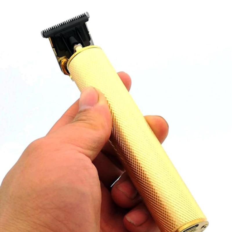 Kmei baldheaded trimer kemey calvo cabeça shaver keimei ouro kimei para desenhos máquina de corte de cabelo balding clipper detalhando kemel 0mm 0mm