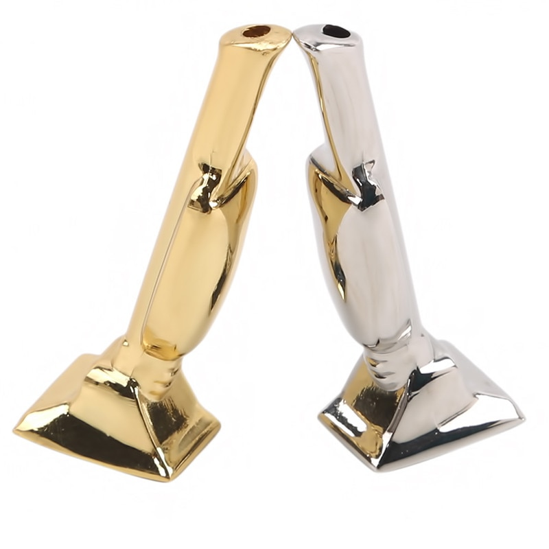 AliExpress - Zinc Alloy Mini Golden Man trophy pipe Snuff Snorter Sniff Metal Tube Smoke Vacuum Sniffer Exquisite Cigarette Filter