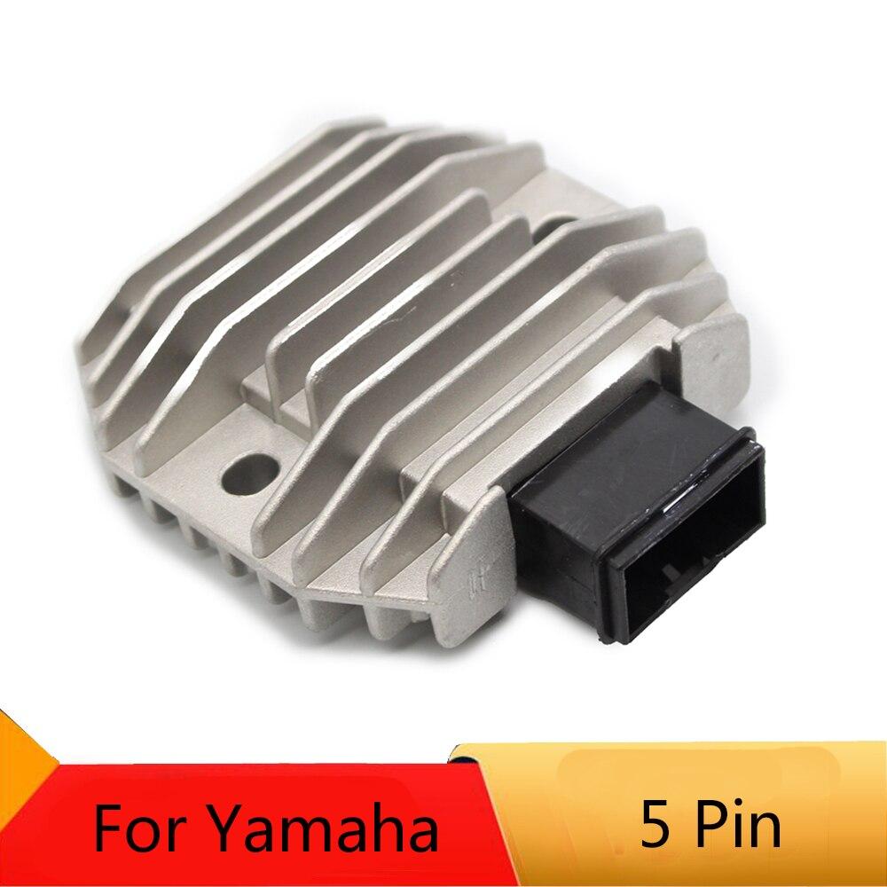 Motocicleta Regulador Retificador Para a Yamaha XVS400 XVS650 XVS1100 V-STAR YFM 660 GRIZZLY 600 XP500 T-MAX FZR600 WR250R YFM350