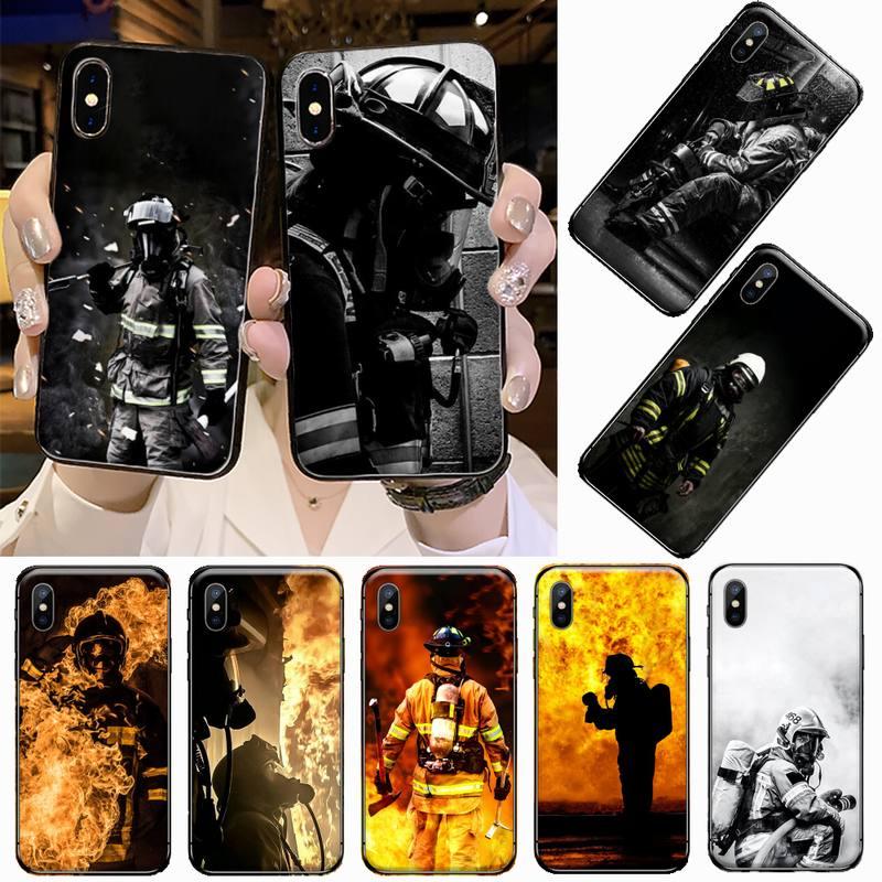 Funda de teléfono blanda personalizada firegren hero flame para iphone 5, 5s, 5c, se, 6, 6s, 7, 8 plus, x, xs, xr, 11 pro, max, carcasa, carcasa