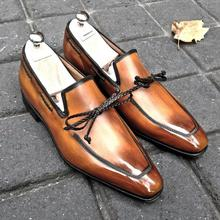 Men's Shoes New for 2020 High Quality Men Pu Leather Safety Fashion Shoe Male Vinage Classic Loafer