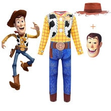 Boys girls set New Movie Toy Story 4 Christmas Kids Clothes Suit Toddler Baby Clothing Cowgirl Cospl