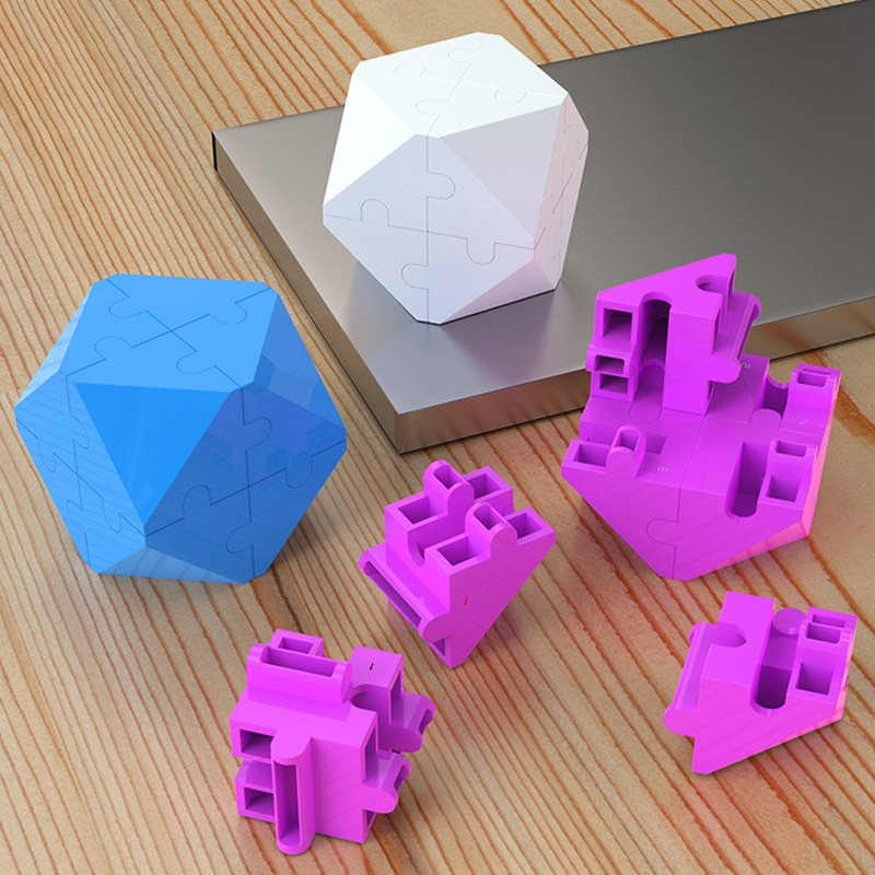 Speed Cube 3D Intellectual Cube Puzzle Building Blocks Toy Gifts for Children enlarge