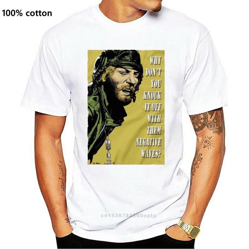 New Kellys Heroes War Movies Film . T Shirt Shirts . Oddball . Woof Woof . Negative Waves . Donald Sutherland men t shirt