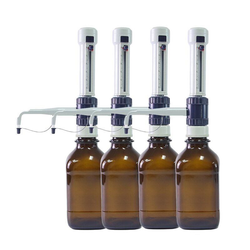 0.5-50ml Storage Bottle Dispenser, Laboratory Sterilization, Adjustable Large-Volume Bottle Mouth Adaptor