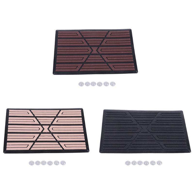 Car Floor Carpet Pad Heel Foot Mat Pedal Patch Cover 23x15cm Car Mat Anti-skid