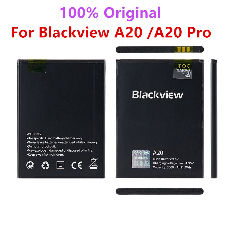 100% Original Backup Blackview A20 3000mAh Battery For Blackview A20 A20 Pro Smart Mobile Phone + +Tracking Number недорого