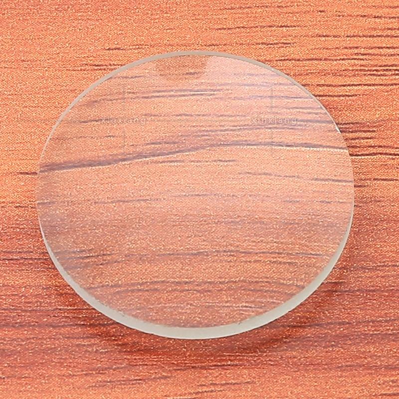 30MM convexo material de vidrio para lentes lupa lente de vidrio experimento científico enseñanza presencial herramienta clase suministros