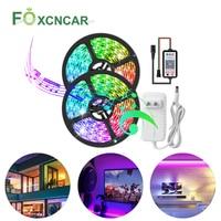 DC12V LED Pixel Strip WS2811 Programmable Addressable 30/60 LEDs/m External IC 2811 APP Control 5050 RGB LED Tape Home Lighting