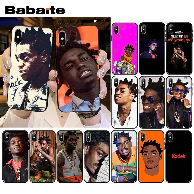 Babaite kodak negro teléfono caso para iPhone XR 11 Pro MaxXS MAX 8 7 6 6S Plus X 5 5S SE