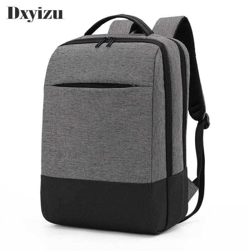حقيبة ظهر مضادة للسرقة للرجال ، حقيبة ظهر مدرسية لأجهزة الكمبيوتر المحمول والكمبيوتر المحمول
