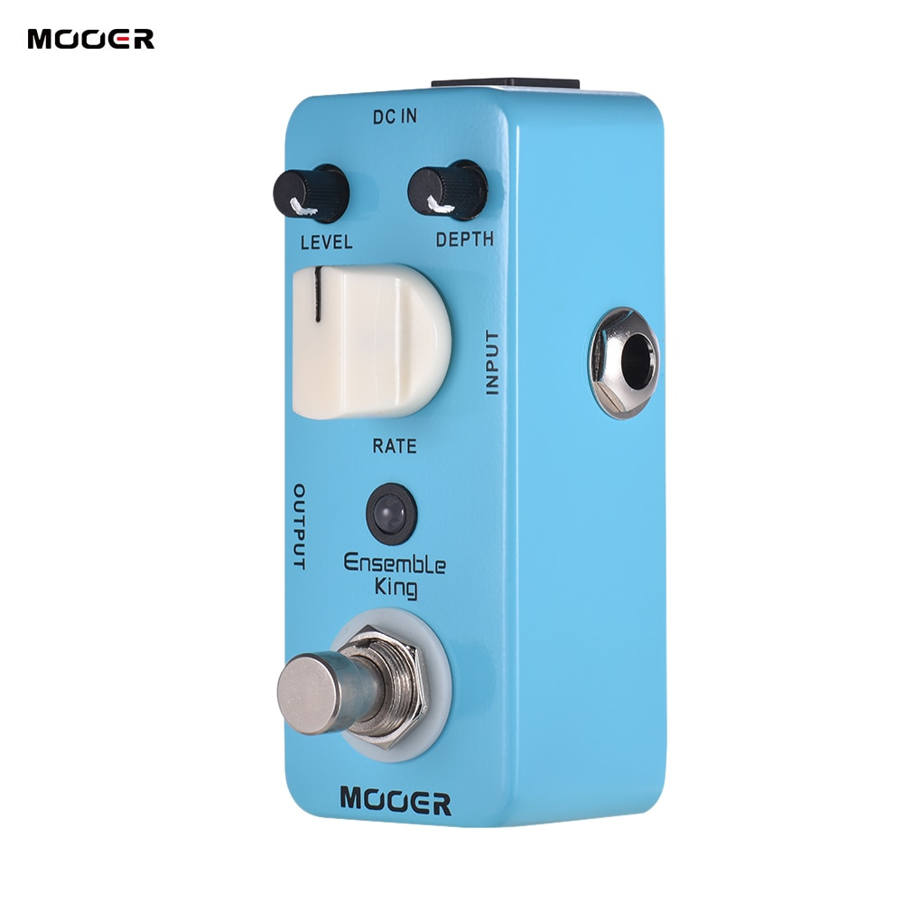Mooer Guitar Effects Pedal True Bypass Analog Chorus Sound MCH1 Ensemble King Effect Processor Chorus For Musical Instruments enlarge