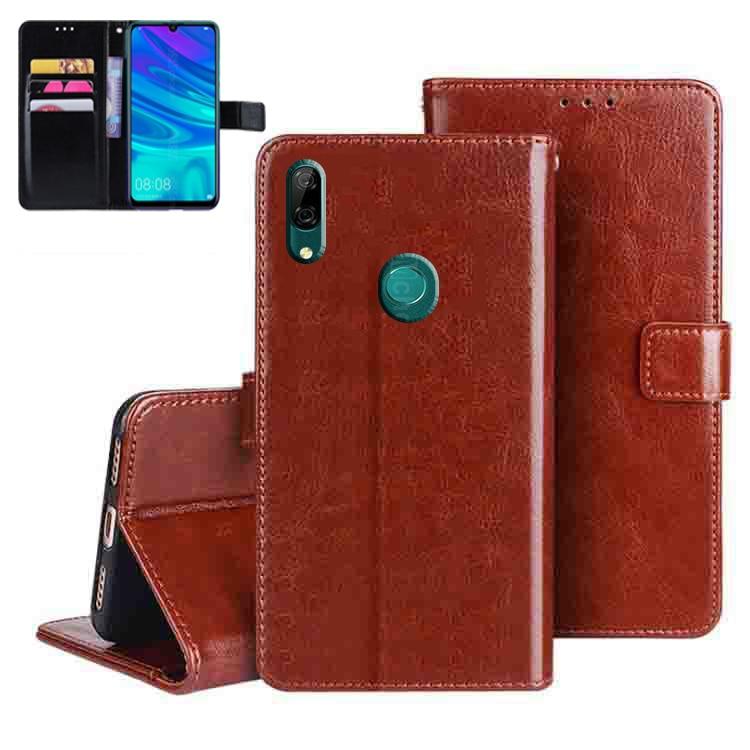 Funda con tapa para teléfono Huawei Y7 Prime, carcasa de cuero PU...