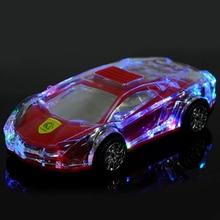 Modelo de coche de sonido duradero, luz Flash de oficina USB 2,0, altavoz inalámbrico portátil con Bluetooth, Conector de 3,5mm, escuchar música, enchufar y reproducir en casa