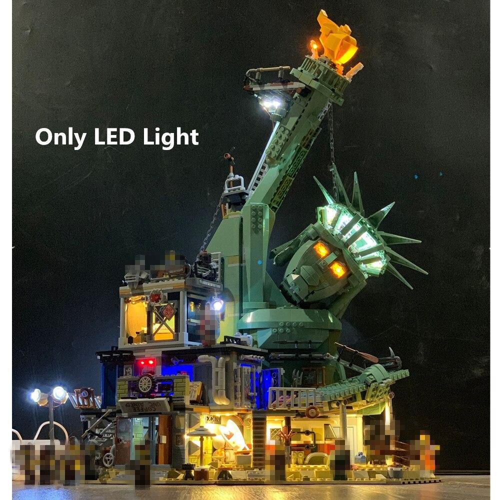 (Только светильник) Светодиодный светильник для фильма 2 Добро пожаловать в apocalypseberg 70840 Строительные блоки Набор кирпичи классическая модель игрушки 45014