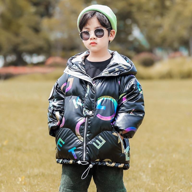 Girl Jacket For Baby 2021 Winter Snowsuit Coat Children's Cold Clothes Long Waterproof Boy Jacket Ki