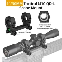 25mm 30mm picatinny cantilever weaver dual rings scope mount ring tactical heavy duty forward reach cam locks gs24 0226
