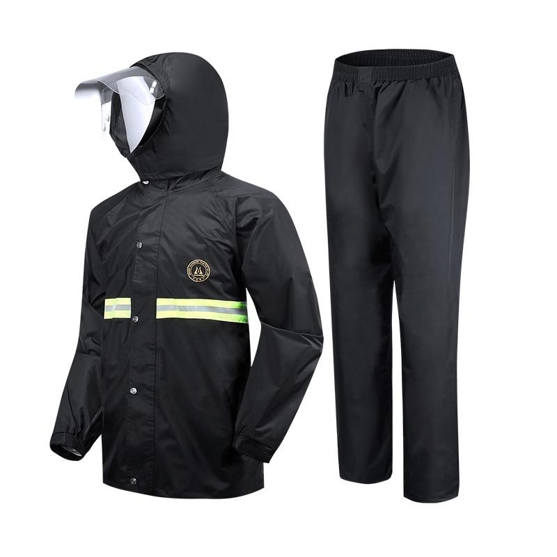 Rain Pants Adult Rain Suit Emergency Rain Poncho Reusable Personal Protective Equipment Suit Backpacks Adults Chuva Home Eg50yy enlarge