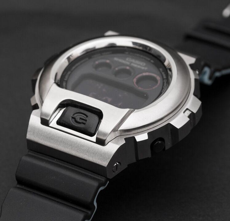 Bisel de reloj de Metal de acero inoxidable de alta calidad para DW-6900 colores exclusivos