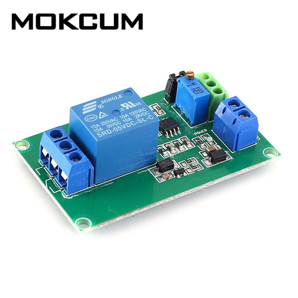 LM393 5V 1CH voltaje comparador relé Control Módulo de circuito