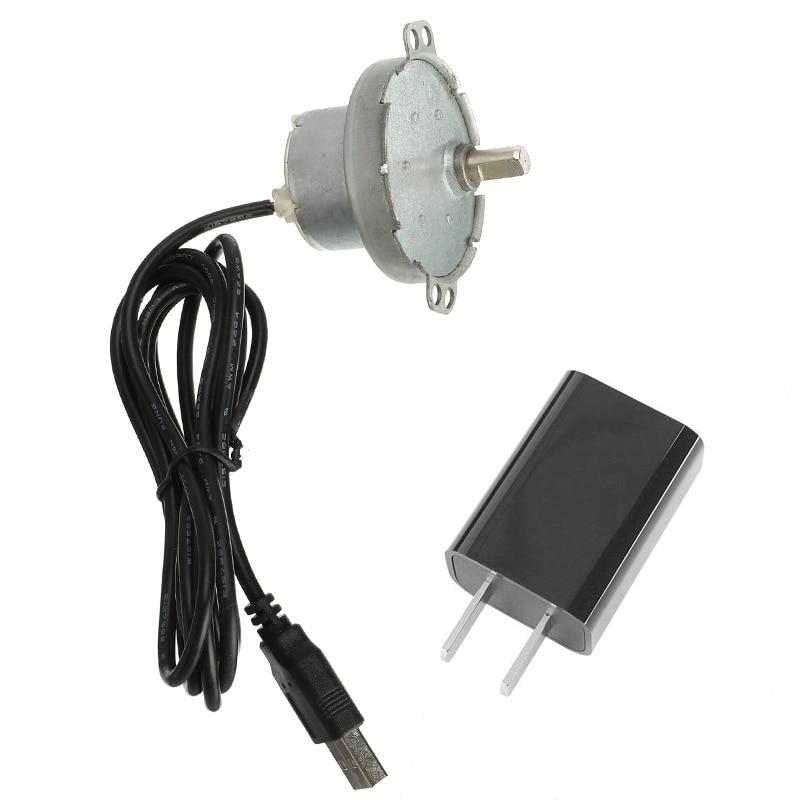 Accesorios de Marco Rotativo Automático DIY, engranajes de Motor eléctrico, accesorios para barbacoa, adecuados para agujas de horneado de tipo plano, herramientas para barbacoa