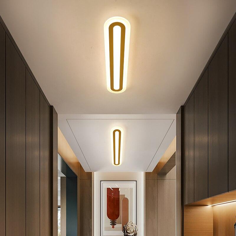 Jmzm الحديثة الممر ضوء السقف الجدار مصباح مع التحكم عن بعد غرفة المعيشة السرير مصباح السقف الجدار الحمام Cloakroom الإضاءة