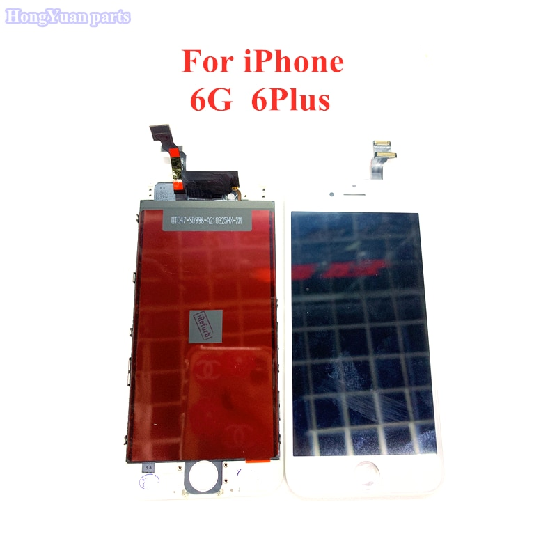 5pcs LCD Pantalla For iPhone 6 7 8 6S Plus Touch Screen Replacement For iPhone 5 5C 5S SE2 Display AAA+++3D Touch No Dead Pixel enlarge
