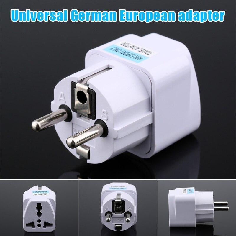 Universele Us Uk Au Om Eu Plug Usa Om Euro Europa Travel Wall Ac Power Charger Outlet Adapter Converter Jr aanbiedingen