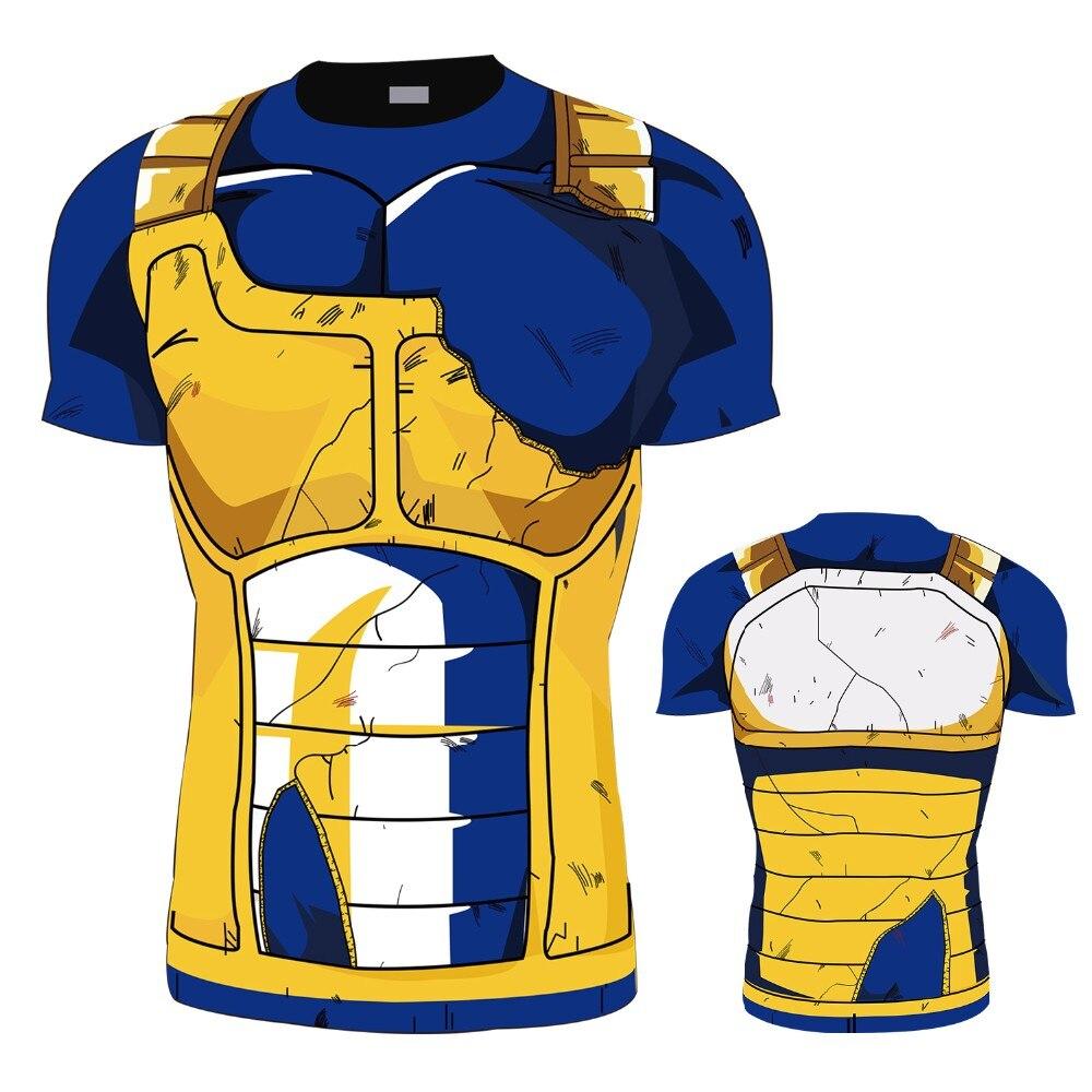 High Quality 3D Anime Men T-shirt O-neck Fashion Design Slim Fit Soild T-shirts Male Tops Tees Short Sleeve T Shirt For