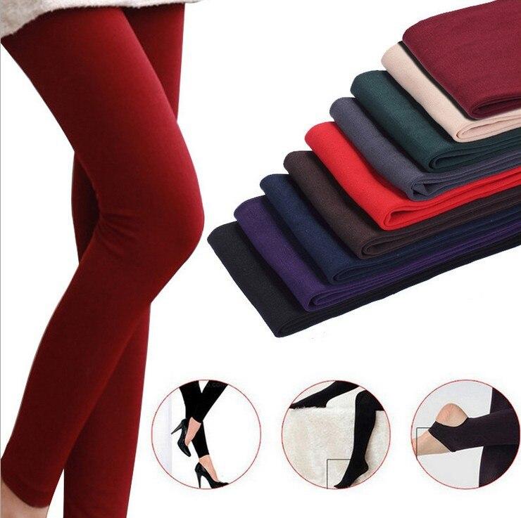 Леггинсы, женские леггинсы, mujer, сексуальные, девять точек, батут ноги, снаружи, тонкий флис, осень, теплая, тонкая женская одежда CLF001