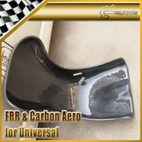 universal carbon fiber racing bucket seat trim