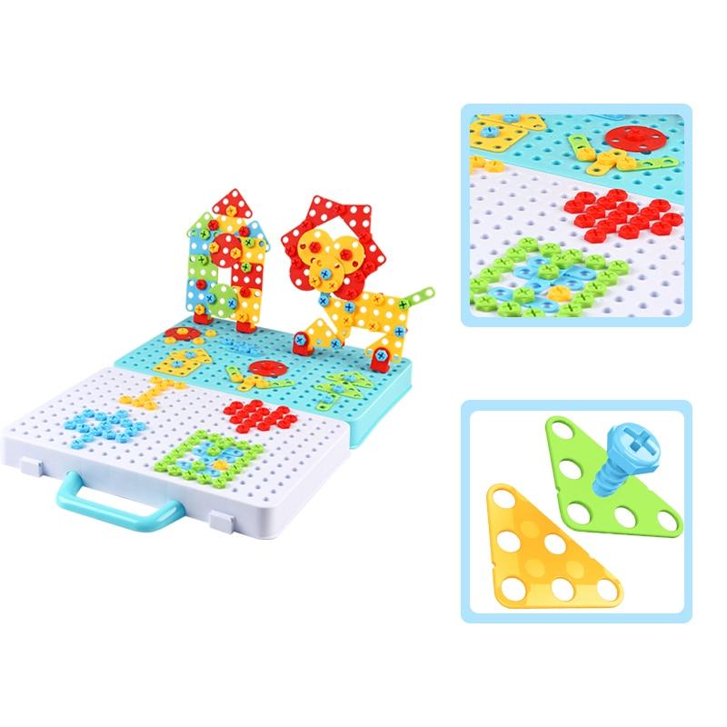 Новые Детские пазлы с гайками, игрушки, ролевые игры, инструмент для сборки и разборки, Детские 3D-пазлы для мальчиков