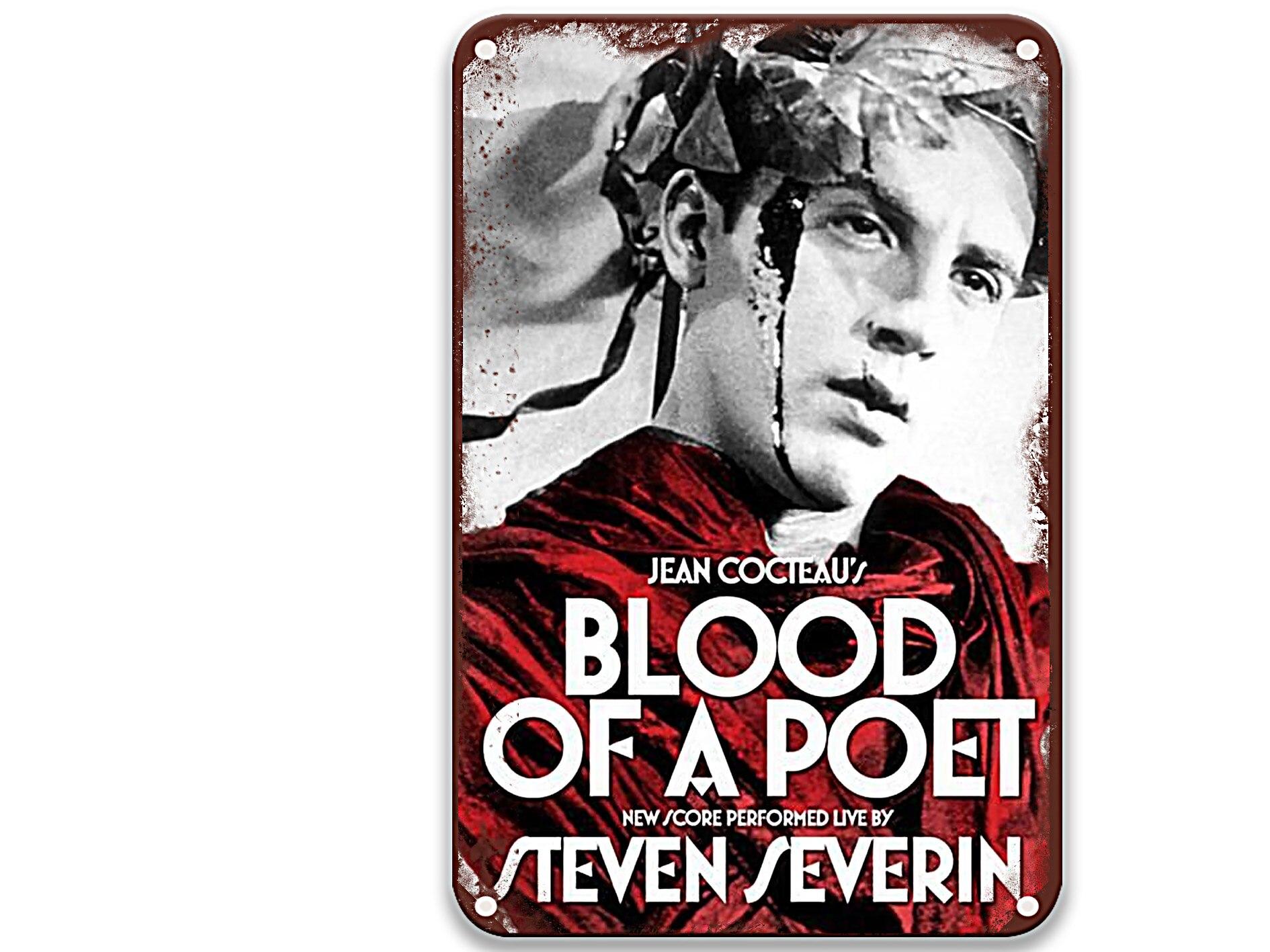 Le sang d'un poète (1930) moderno carteles de Metal películas Arte de...