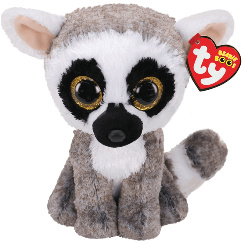 15 см Ty большие блестящие глаза Плюшевые Линус лемура плюшевые игрушки животных чучела кукла обезьяны подарок