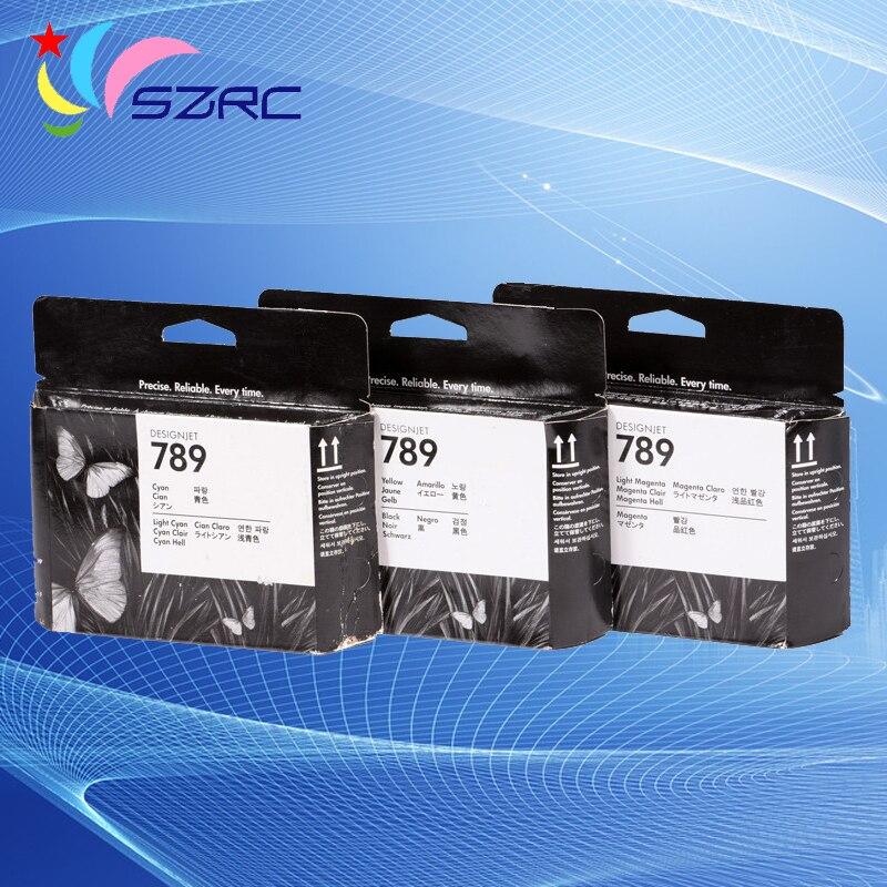 رأس الطباعة CH612A CH613A CH614A لـ HP789 ، أصلي ، متوافق مع رأس الطابعة HP L25500 ، انتهت صلاحيتها 789