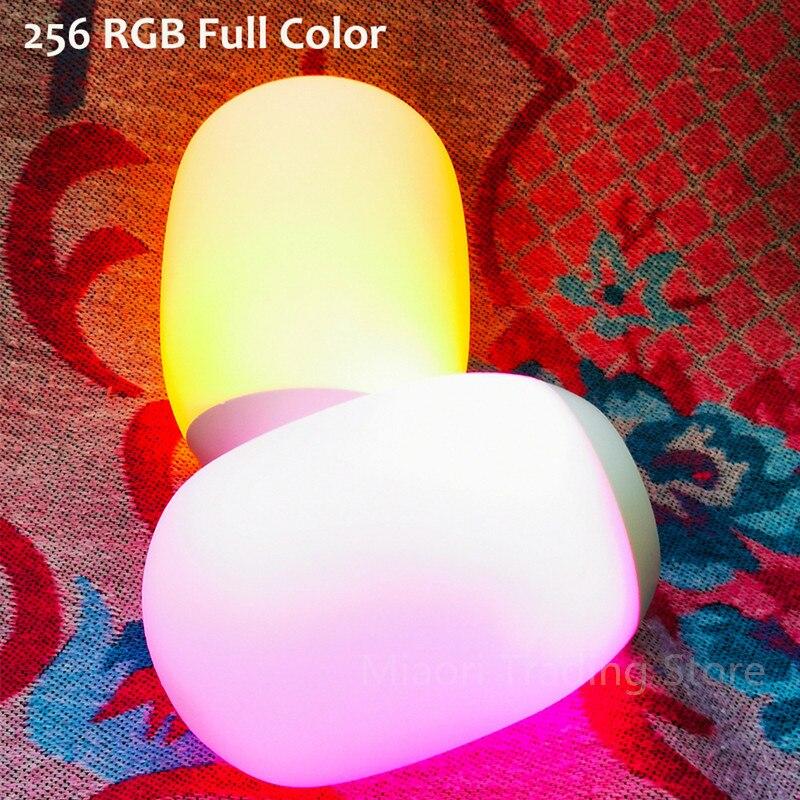 LED حماية العين لمبة مكتب USB قابلة للشحن مستقلة المغناطيسي اللمس يعتم ضوء الليل الملونة جو أباجورة