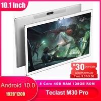 teclast m30 pro 10 1 inch pc tablet android 10 ips 19201200 4g call network 4gb ram 128gb rom dual wifi gps intelligent sensors