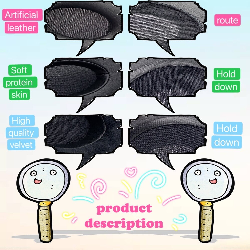 Earpads Velvet for Takstar HI2050 HI-2050 HI 2050 Headset Earmuff Cover Cushion Cups Bumper Headband Sleeve pillow Repair Parts enlarge