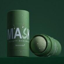 40g Green Tea Clean Face Mask Beauty Skin Moisturizing Blackhead Stick Control Acne Pores Dirt Clear