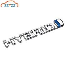 Insigne demblème dautocollant de voiture hybride en métal 3D pour les accessoires décoratifs universels de vélo de Moto de voitures