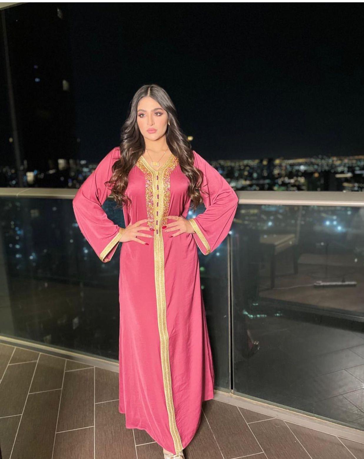 Eid Mubarak Dubai Abaya Turkey Muslim Fashion Abayas Dresses for Women Islam Clothing Jalabiya Indian Dress Caftan Kaftan Robes