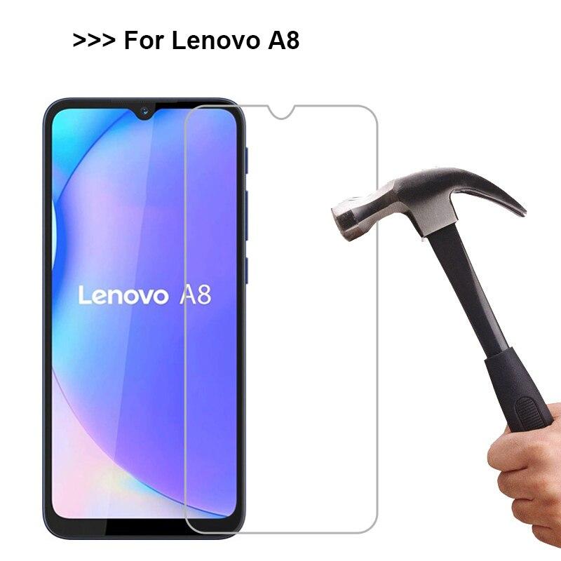 2-1 Uds vidrio Templado para Lenovo A8 2020 cubierta de vidrio Cristal...