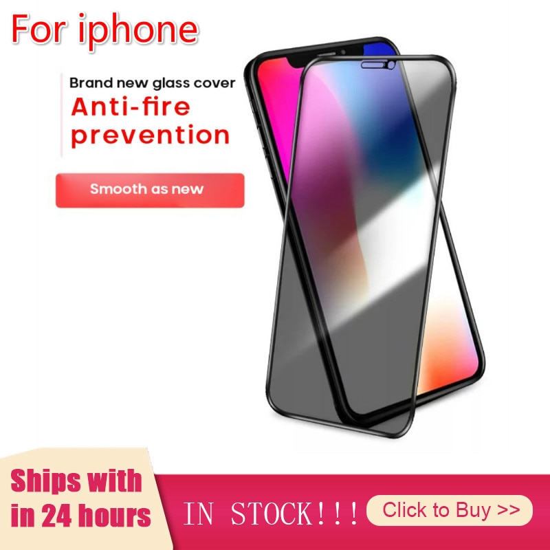 3PCS For IPhone 12Mini /12/12Pro/Pro Max Tempered Glass Privacy Screen Protector Mobile Phone Parts